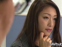 JAVHUB, Reiko Kobayakawa will do anything for a raise