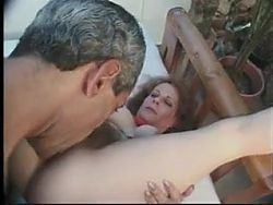 UNSHAVEN mature gets pounded